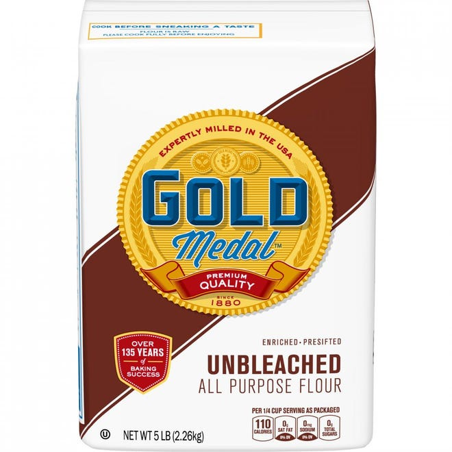 General Mills is recalling select bags of Gold Medal Unbleached All Purpose Flour.