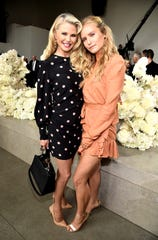Christie Brinkley and daughter Sailor Brinkley-Cook attend New York Fashion Week on Sept. 10, 2018.