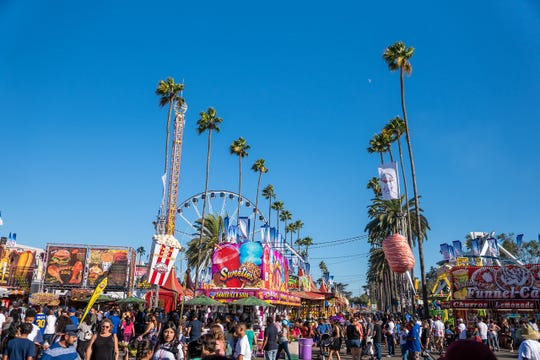 The Los Angeles County Fair received an email about a shooting.