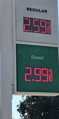 The price of a gallon of unleaded gas jumped from under $2.20 to almost $2.60 this week in Abilene.