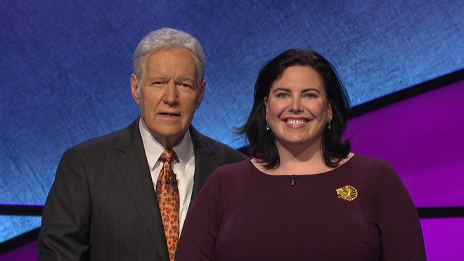 Ferrisburgh resident Helen Lyons is scheduled to appear on Jeopardy! with Alex Trebek on September 17.