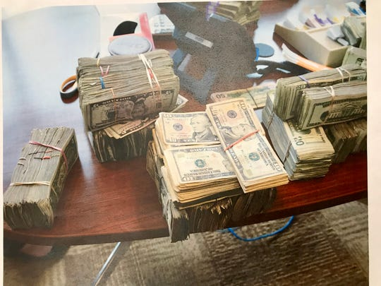 "More than $300,000 was seized after a traffic stop during a two-day operation ""Operation Poison Pipeline."""