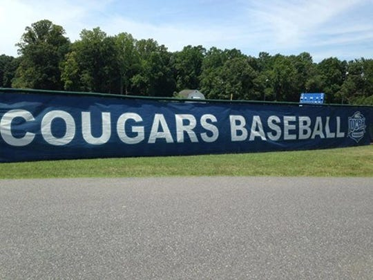 A player for the Camden County College baseball team claims in a lawsuit that an assistant coach hit him with a metal bat.