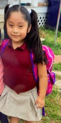 Dulce Maria Alavez, 5, was reported missing Monday afternoon.
