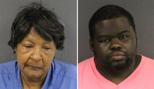 Eudean 'Mama Dean' McMillan and Darryl Parker are charged in connection with a deadly incident at a Trenton laundromat Monday.