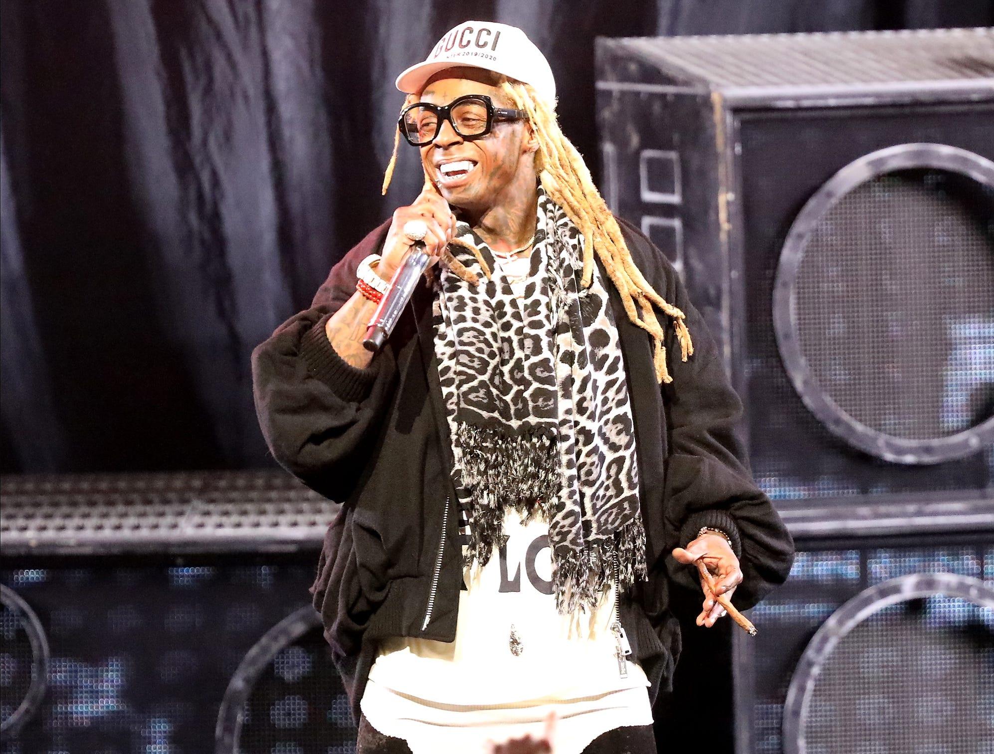 Photos: Lil Wayne and Blink-182 concert