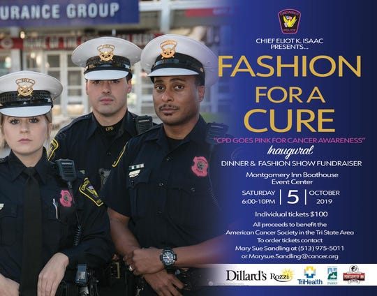 Fashion show approaching: Police look pretty in pink this October for breast cancer awareness