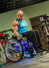 Shimon and Sara Birnbaum Jewish Community Center in Bridgewater will host its first Community Fitness Expo on Sept. 22. Keynote speaker will be Nick Scott, founding CEO-president of Wheelchair Bodybuilding, pictured.