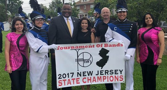 Carteret's marching band won the Tournament of Bands 2017 New Jersey State Championship