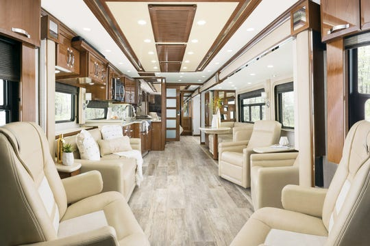 Newmar's King Aire Class A motorhome starts at $960,000.