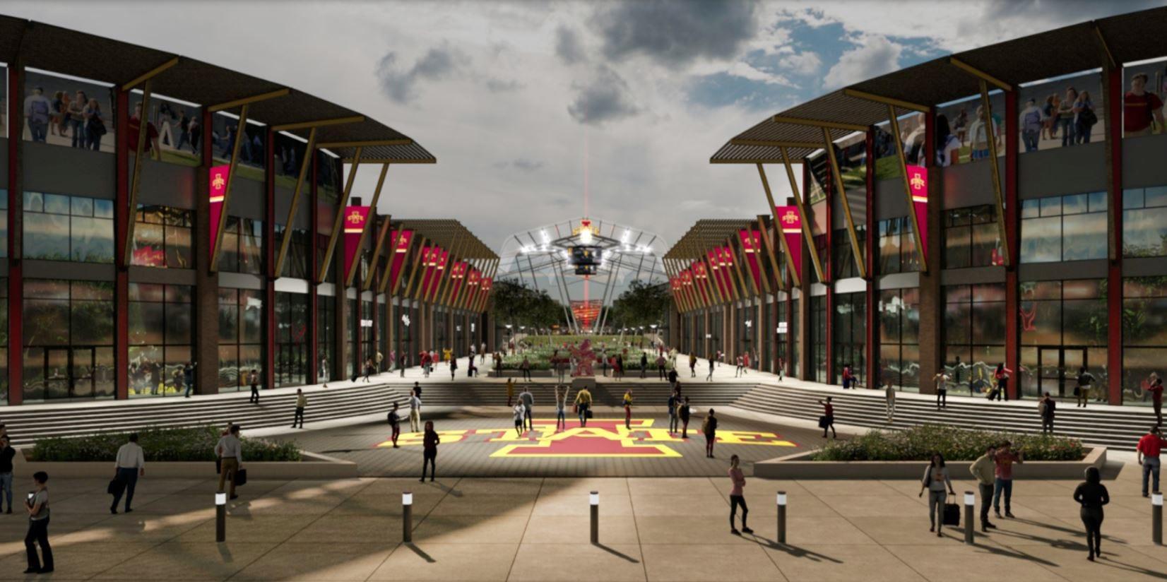 Photos: Proposed multi-use redevelopment near Jack Trice Stadium, Hilton Coliseum