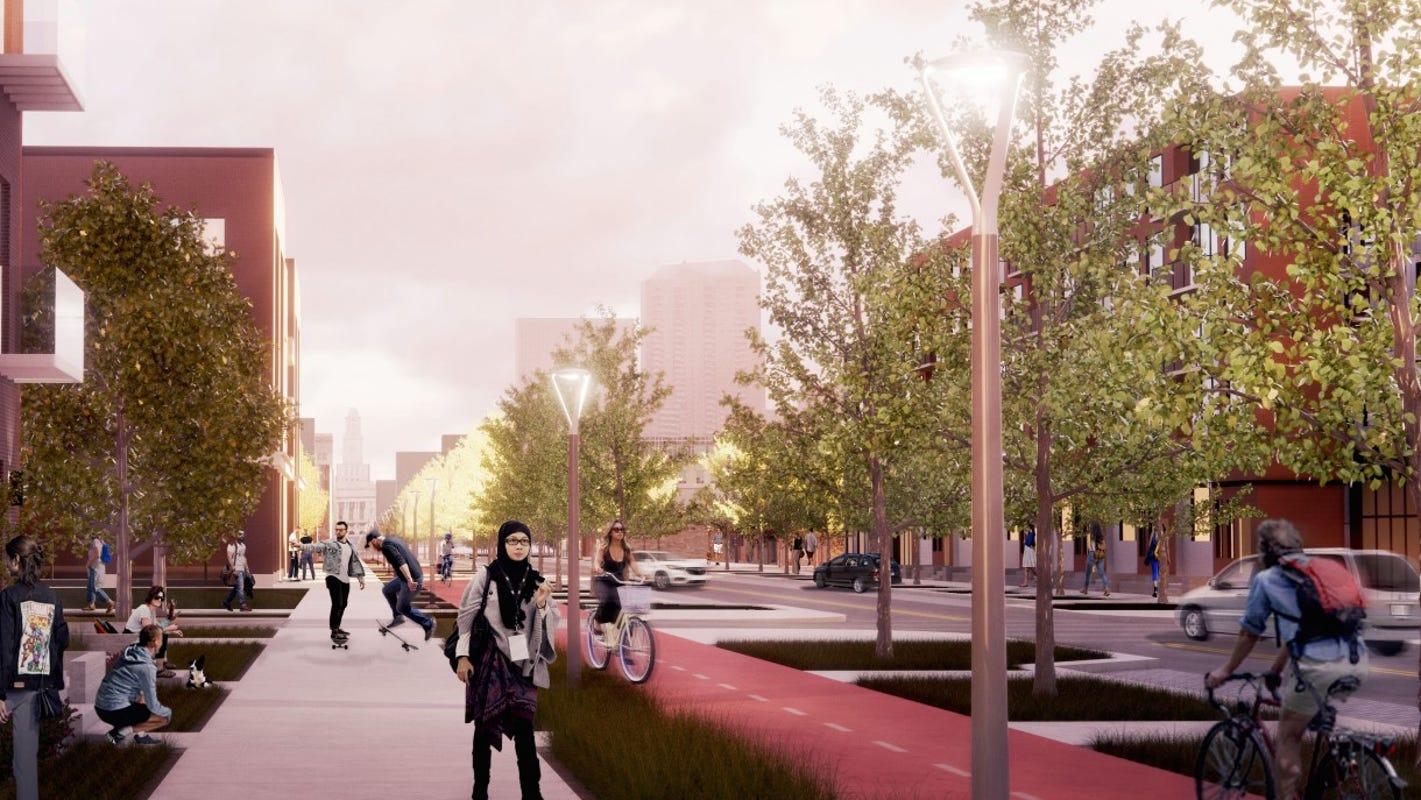 Market District renaissance: Des Moines envisions tree-line streets, bistro cafes in historic warehouse district