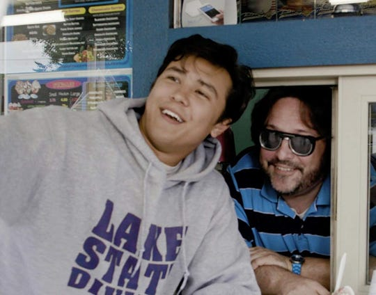 """Foley Schuler and Chase Yi in """"Coming Up for Air."""""""