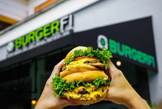 BurgerFi cheeseburgers