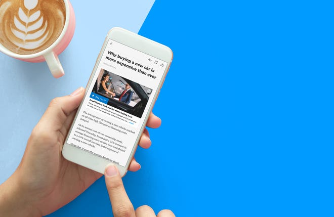 The Detroit Free Press app is free to download and customizable.