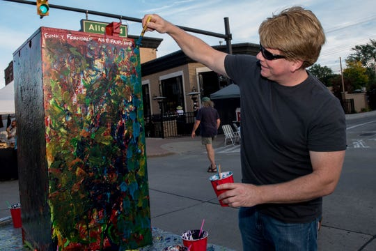 About 100 artists are due at the juried Funky Ferndale Art Fair.