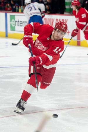 Former first-round pick Filip Zadina could earn a roster spot on the Red Wings.