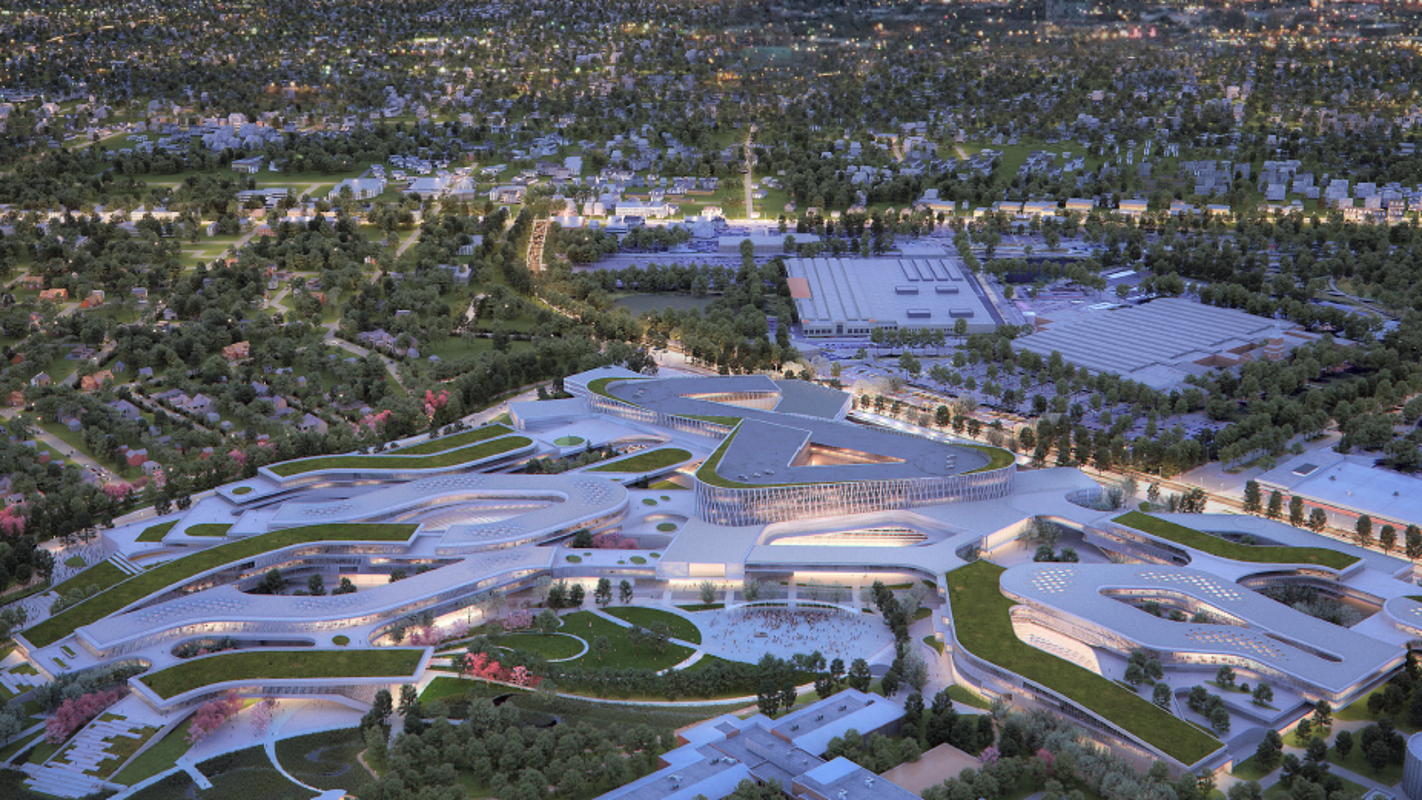 Ford revamps plans for Dearborn campus redesign