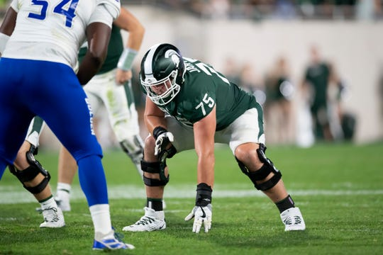 Kevin Jarvis will miss at least 6-7 weeks, Michigan State head coach Mark Dantonio confirmed on Tuesday, after the junior left Saturday's loss to Arizona State late in the first half.
