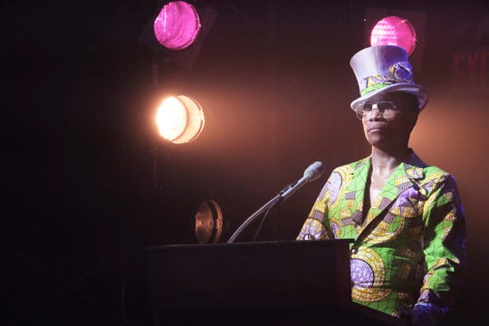 "This image released by FX shows Billy Porter in a scene from ""Pose."" The program is nominated for an Emmy Award for outstanding drama series. (JoJo Whilden/FX via AP)"