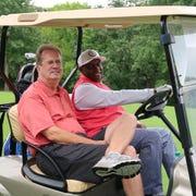 UAW President Gary Jones and Region 5 Director Vance Pearson