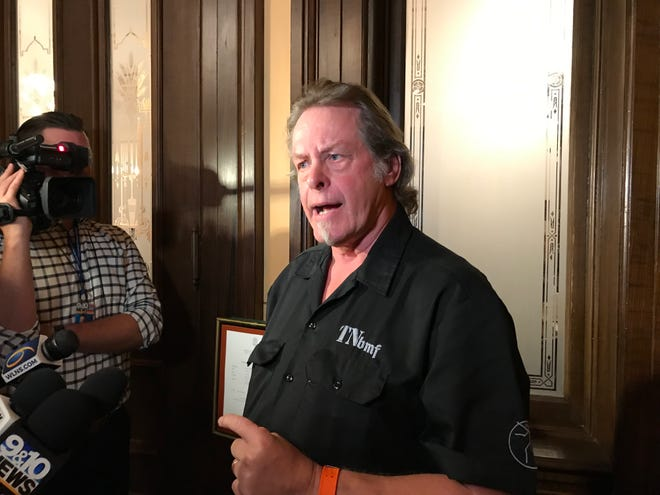 Rocker Ted Nugent supports a House bill in Michigan that would overturn a ban and would allow hunters to lure deer and elk with bait during hunting seasons.