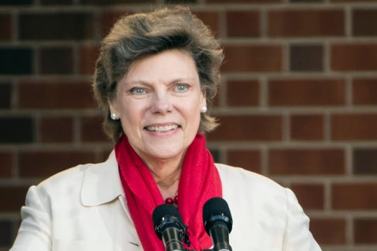 Cokie Roberts in 2017