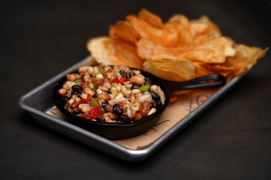 Cowboy Caviar with house chips will be on the new menu at Hometown Roots.