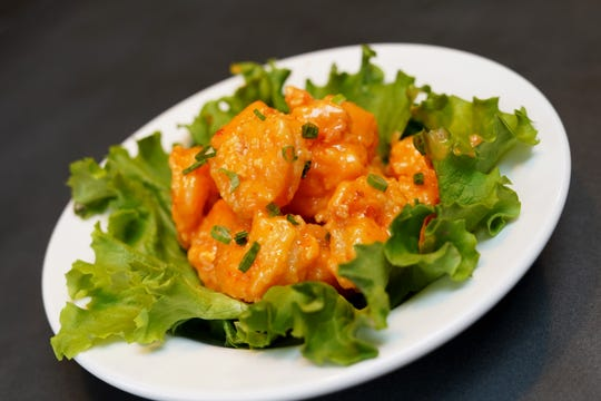 Double Bang Shrimp is chef Casey Todd's version of a popular seafood appetizer.