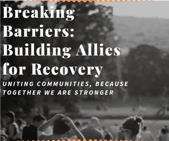 Drug Free Communities of Fond du Lac County will host an event celebrating and supporting recovery from 3 to 7 p.m. on Saturday at Buttermilk Creek Park, 700 S. Park Ave., Fond du Lac.