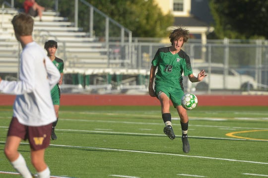 The Fossil Ridge soccer team hosts Legacy at 6 p.m. Monday.