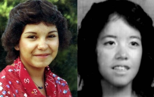 Victoria Sanchez, left, and Yvonne Mestas, right, went missing from Rocky Ford, Colo. on Nov. 1, 1982. If you have any information on their disappearances, contact the Rocky Ford Police Department at 719-254-3345.
