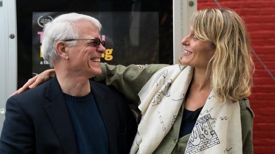 Dr. Patrick Mullen and his daughter, film maker Sara Lamm