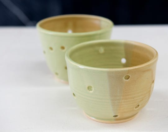 Berry bowls made by Jocelyn Conrad