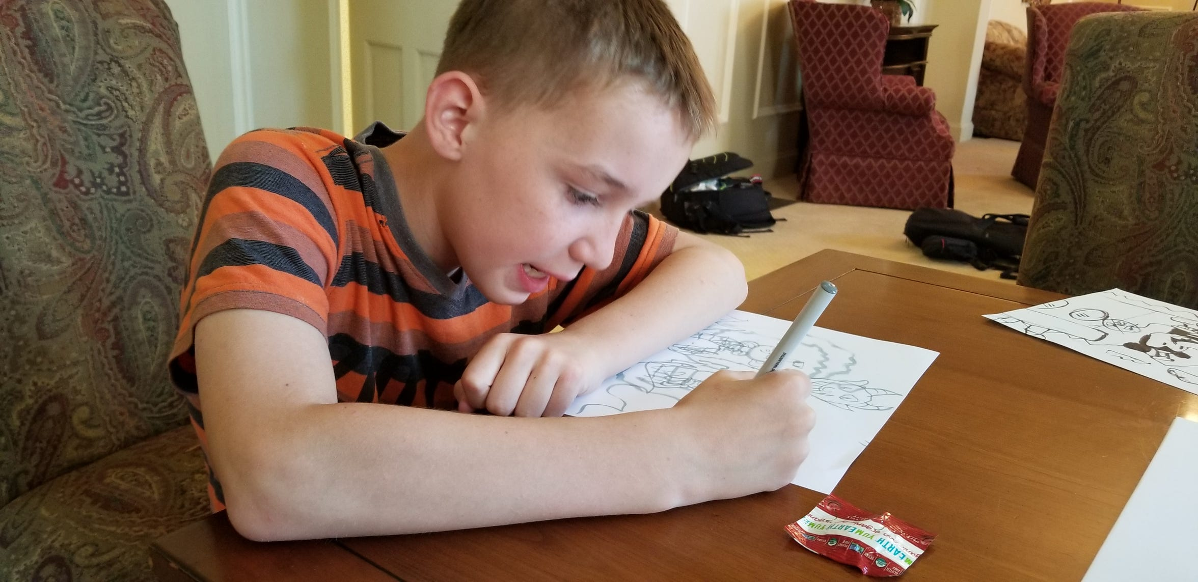 Ethan Fischer is one of 27,488 people helped through United Way grants this year. Ethan receives specialized care through Peace Place Respite Care.