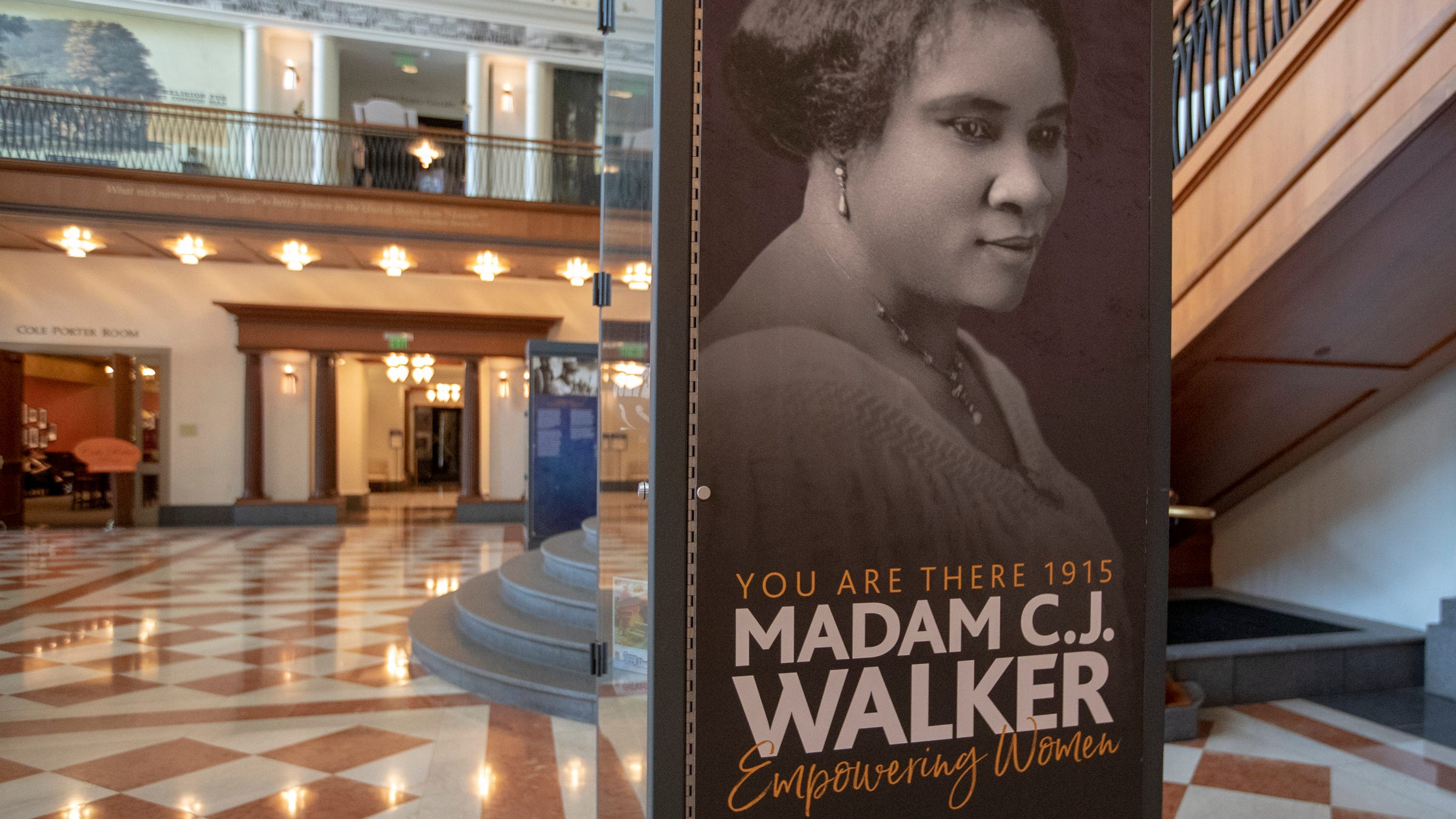 Madam C J Walker What The Indiana Historical Society Exhibit Shows