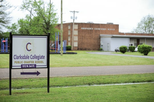 Clarksdale Collegiate Public Charter School pulls students from Coahoma County and its county seat of Clarksdale.