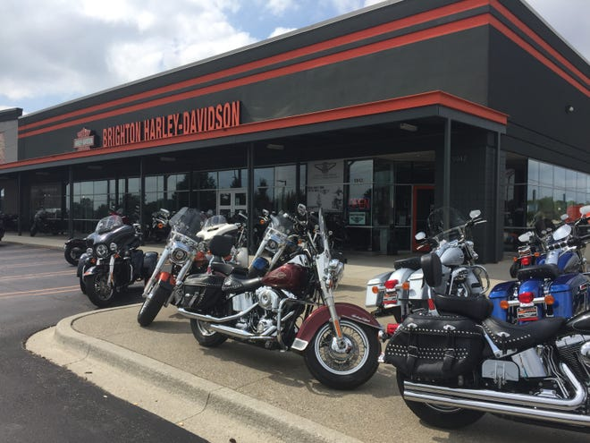 Pure Energy Window Company purchased the former Brighton Harley-Davidson, shown Tuesday, Sept. 17, 2019, which closed and consolidated with MotorCity Harley-Davidson in Farmington Hills.