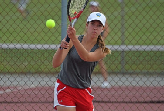 Shelby sophomore Grace Mahek has had a strong season for the Whippets and is a big reason they are tied at the top of the Mid-Ohio Athletic Conference standings with Marion Harding.