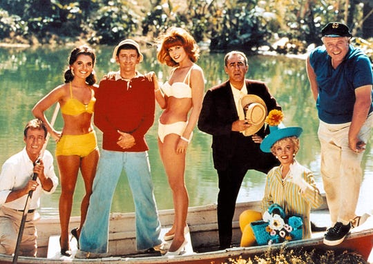 """Gilligan's Island"" premiered on American television 55 years ago on Sept. 26, 1964."