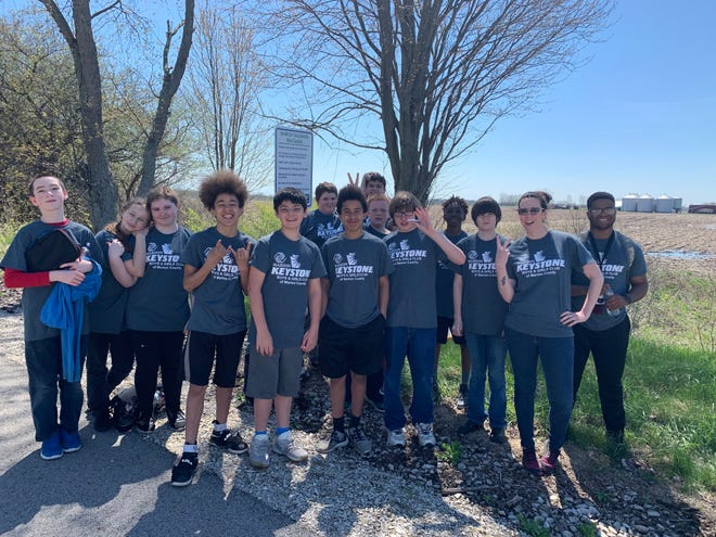 Teens visit the Marion County Tall Grass Trail as part of the Boys and Girls Club's health and wellness programs.