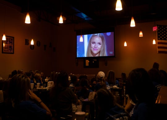 Family and friends gathered at Booya's restaurant to cheer on Sophie Pittman in the final episode of 'So You Think You Can Dance' in Collierville on Monday, Sept. 16, 2019.