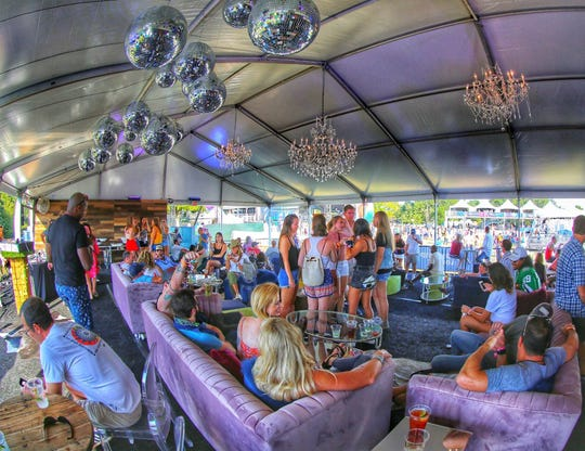 The Super VIP Lounge at Mempho Music Festival will feature fare by chef Jimmy Gentry of Paradox Catering.