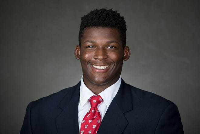 Freshman nose tackle Keeanu Benton out of Janesville Craig should see plenty of action against Michigan in both of UW's 3-4 and 2-5 defensive alignments