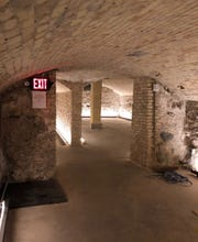 Lager caves at the brewery once held barrels of beer. They will again with Foxtown Brewing.