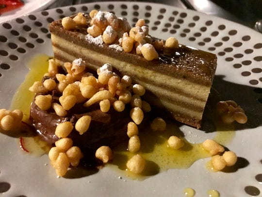 Bebinka, a cake made of thin layers that incorporate coconut milk, originates in the Indian state of Goa. It was a dessert special in summer at Odd Duck, 2352 S. Kinnickinnic Ave.