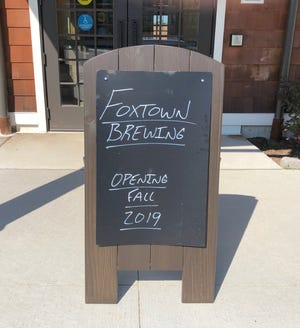 Foxtown Brewing expects to open Nov. 6.
