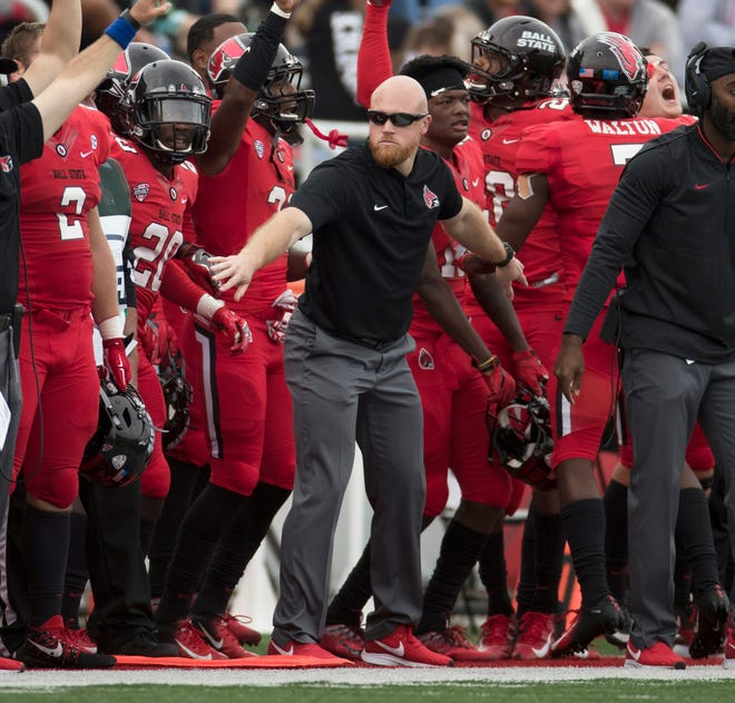 Ben Armer is Ball State football's director of strength and conditioning. He's worked in this role since 2016.