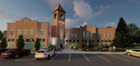 A rendering shows the Incredible Christmas Place store coming to Mt. Juliet.
