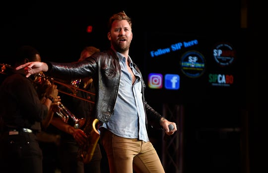 Charles Kelley of Lady Antebellum performs during the SIP Hope 4 Hope Town Hurricane Dorian Relief Concert at the Ryman Auditorium  Monday, Sept. 16, 2019 in Nashville, Tenn.